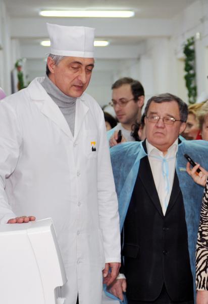 Презентація відділення грудного віку Миколаївської міської дитячої лікарні №2 (14 лютого 2012)