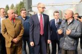 Арсеній Яценюк відвідав філію «Решетилівська»