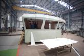 Reconstruction of the Slipway Cannot Stop the Shipbuilding Program