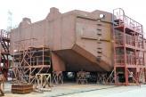 Перше судно проекту В5000 буде спущено на воду вже в найближчі дні